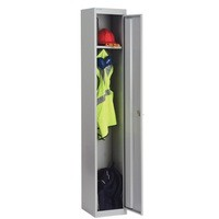 Bisley 1 Door Locker 305x305x1802mm Goose Grey