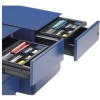 Image for Bisley Drop-In Pen Tray A4 Black DIP-000