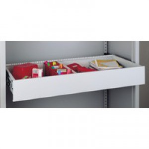 Bisley Roll-out Drawer for Cupboard Grey Ref BRD3AT