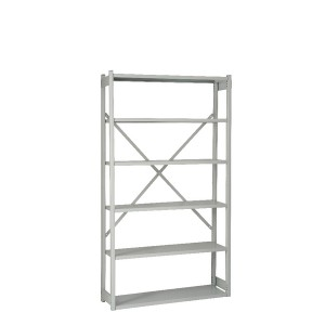 Bisley Shelving Starter Kit W1000 x D300mm Grey BY838030