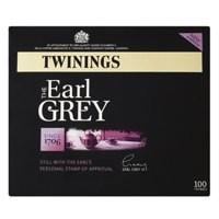 Twinings Earl Grey Tag Tea Bag Pack of 100 A00801