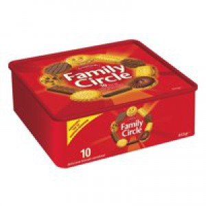 Jacobs Family Circle Biscuits 800gm A07001