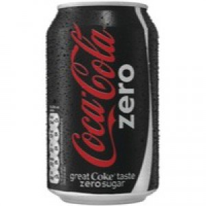 Coke Zero 330ml Can Pack of 24 A06992