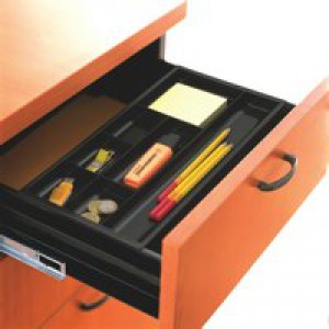CEP Drawer Organiser Black 149/4