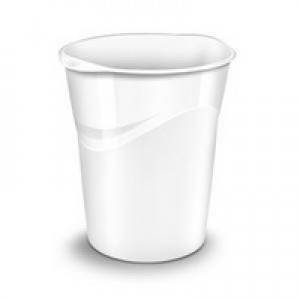 CEP Pro Gloss Waste Bin White 280G