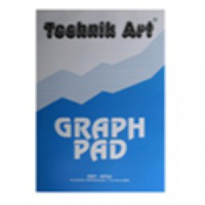 Technik Art Graph Pad A4 1/5/10mm 40 Leaf XPG1