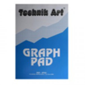 Technik Art Graph Pad A4 5mm Quadrille 40 Leaf XPG6