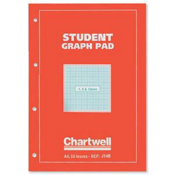 Chartwell Graph Pad A4 10mm J14B