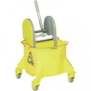 Contico Mobile Mop Bucket 15 Litre Yellow COM450YELLOW
