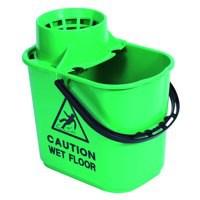 Mop Bucket Wringer 15 Litre Blue SM15BL