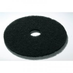 Contico 15 inch Floor Pad Black Pack of 5 F15BK