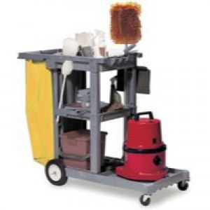 Struct-O-Cart Mobile Cleaning Trolley Grey 184GY