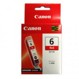 Canon Pixma iP8500 Inkjet Cartridge Red BCI-6R