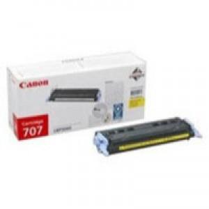 Canon Laser Shot LBP-5000 Toner Cartridge Yellow CRG-707Y