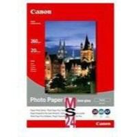 Canon Bubble Jet Paper Semi-Gloss SG-201 8x10 inches Pack of 20 Sheets 1686B018