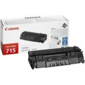 Canon CRG-715 Laser Toner Cartridge Page Life 3000pp Black Ref 1975B002