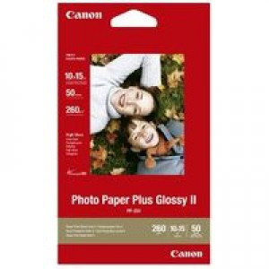 Canon Photo Paper Plus Glossy PP-201 10x15cm Pack of 50 Sheets
