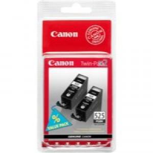 Canon Inkjet Cartridge Black PGI-525 Twin Pack 4529B010