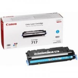 Canon MF8450 717C Laser Toner Cartridge 4000 Prints Cyan 2577B002AA
