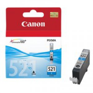 Canon iP3600/4600/MP540/620/630/980 Inkjet Cartridge 9ml Cyan CLI-521C
