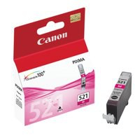 Canon iP3600/4600/MP540/620/630/980 Inkjet Cartridge 9ml Magenta CLI-521M