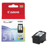 Canon MP240/260/480 Inkjet Cartridge 9ml Colour CL-511