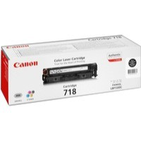 Canon i-Sensys LBP-7200CDN 718VP Laser Toner Cartridge Black Pack of 2 2662B005AA
