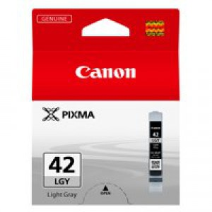 Canon Pixma CLI-42LGY Inkjet Cartridge Light Grey 6391B001