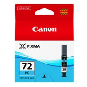 Canon Pixma PGI-72PC Inkjet Cartridge Photo Cyan 6407B001