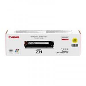 Canon Yellow 731Y Standard Yield Toner Cartridge 6269B002