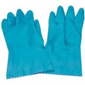 Caterpack Rubber Gloves Medium Pack of 6