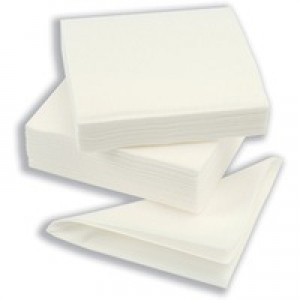 Maxima Napkin 320mm 1-Ply White Pack of 500