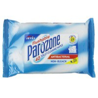 Parozone 40 Toilet Wipes Flushable Pk 8 KJEYSJY02058