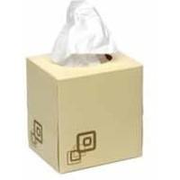 Maxima Cube Tissue Cream Box Pack of 24 KMAX10010