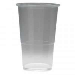 Plastic Half Pint Glass Pack of 50