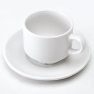 CPD Cup/Saucer Pack of 6 White KDSNAV67+55