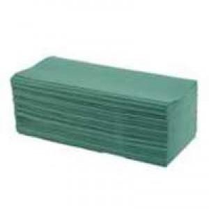 Maxima Green C-Fold Hand Towel 2 Ply White Pk 120x20 KMAX5052