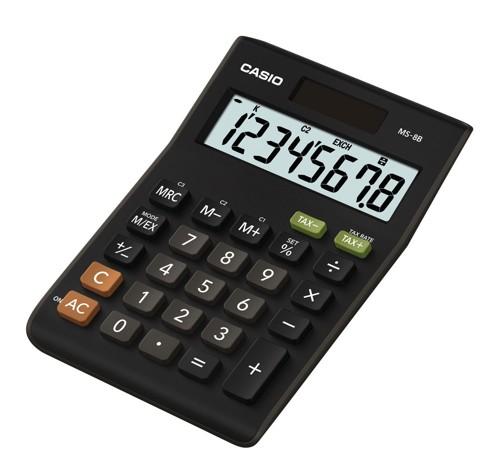 Casio Desktop Calculator 8-digit MS-8TV