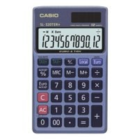 Casio Pocket Calculator 12-digit SL-320TER-S-GH