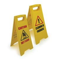 Floor Safety Sign Dual Sided FS.01