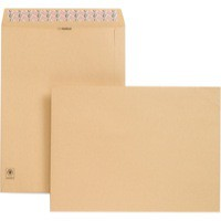 New Guardian Envelopes Heavyweight Pocket Peel and Seal Manilla 406x305mm [Pack 125]