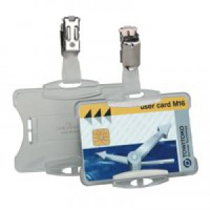 Durable Security Pass Badge Holder Ref 8118-19 [Pack 25]