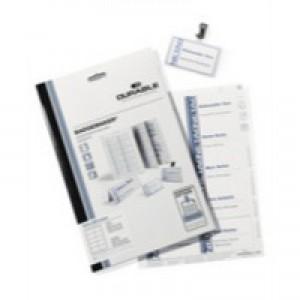Durable Badgemaker 40 Inserts 61x150mm 1459/02
