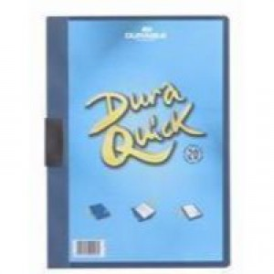 Durable Duraquick File A4 Blue Pack of 20 2270/06