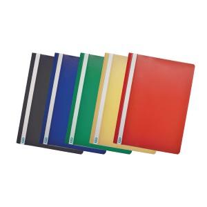 Elba Clearview Folder A4 Black (Pk 50) 400055033