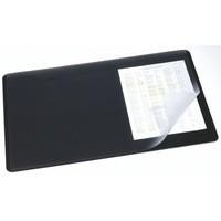 Durable Desk Mat 400x530mm Clear/Black 7202/01