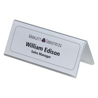 Durable Table Name Holder 61x150mm Pack of 25 8050