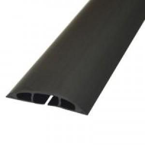 D-Line Light Duty Floor Cable Cover 1.8mx80mm Black CC-1