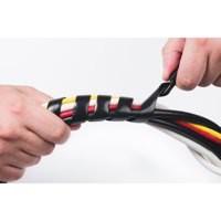 Image for D-Line Black Cable Tidy Wrap 2.5m