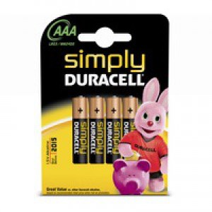 Duracell MN2400 Simply Battery AAA Code 81235219